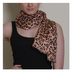 Azuri Iconic Leopard Scarf