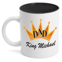 Personalized King Daddio Coffee Mug