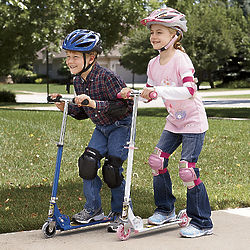 Action Wheels Folding Scooter Toy