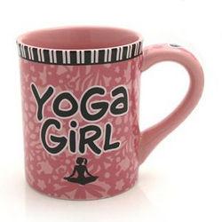 Yoga Girl Coffee Mug
