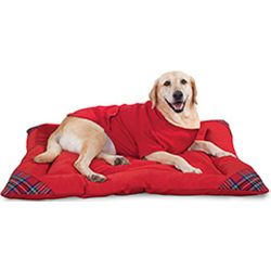 Stewart Plaid Pet Bed