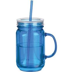 Freezable Blue Mason Jar