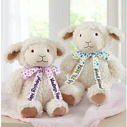 Personalized Soft and Snuggly Lamb