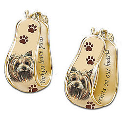 A Loyal Companion Breed-Specific Dog Art Cuff Earrings