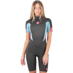 2mm Women's Billabong Synergy Shorty Springsuit