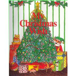 """My Christmas Wish"" Personalized Children's Book"