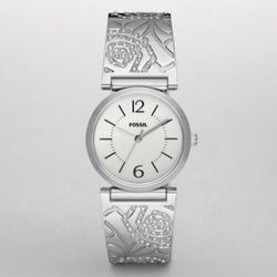 Three Hand White Dial Watch