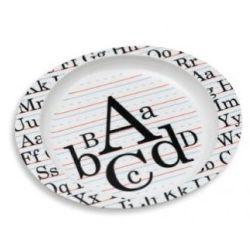 Vintage Alphabet Deep Plate