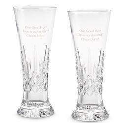 Waterford Lismore Pilsner Glasses