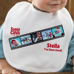 Personalized Santa Claus is Comin to Town Bib