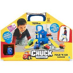 Chuck and Friends Fold and Go Garage Play Set