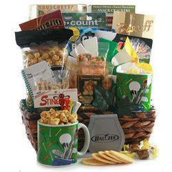 Born to Golf Gift Basket