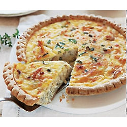 Fresh Crab Quiche