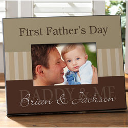 Daddy and Me Personalized Large Frame