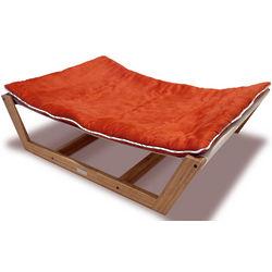 Bambu Nautical Orange Hammock Dog Bed