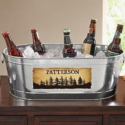 Personalized Neck of the Woods Beverage Tub