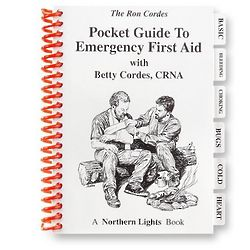 Pocket Guide to Emergency First Aid Book