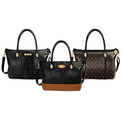Alfred Durante 3-in-1 Interchangeable Handbag