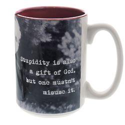 Pope John Paul II Stupidity Quote Coffee Mug
