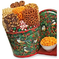 Winter Song Snack Assortment Gift Tin