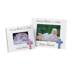 Personalized Commemorative Baptism Frame
