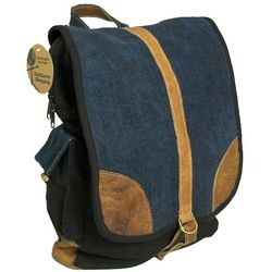 Large Hemp No Kill Leather Backpack