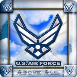 US Air Force Coaster Set
