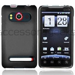 Black Evo 4G Rubberized Hard Plastic Case