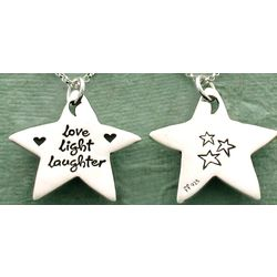 Love, Light, Laughter Necklace