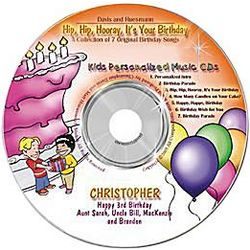Personalized Kid's Celebration CD