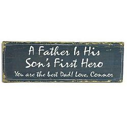 Personalized First Hero Canvas