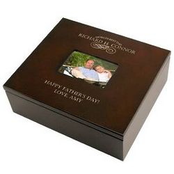 Dad's Personalized Keepsake Box