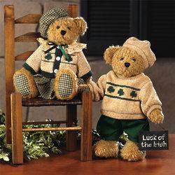 Plush Paddy's Girl Decorative Teddy Bear
