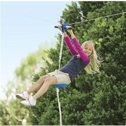Kid's 70-Foot Zipline with Seat