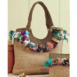 Recycled Sari Handbag