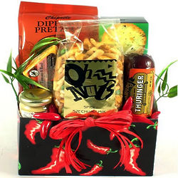 C'est Bon Fiery Hot Snacks Gift Box