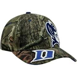Camouflage Duke Blue Devils Double Barrel Adjustable Hat