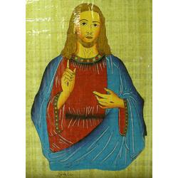 Jesus Papyrus Art