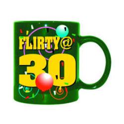 Flirty at 30 Mug