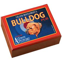 Personalized Bulldog Cigar Humidor