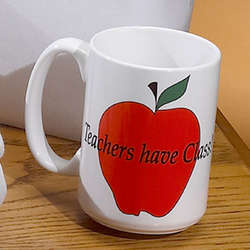 Personalized Teachers Have Class Coffee Mugs