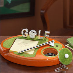 Golf Desk Set