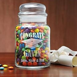 Personalized Graduation Treat Jar
