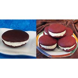 One Dozen Chocolate Whoopie Pies Gift Box