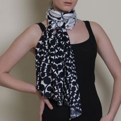 Azuri Queen of Clubs Scarf