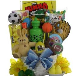 Egg-Streme Soccer Easter Gift Basket for Boys