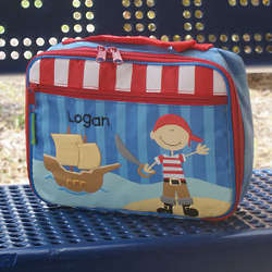Personalized Pirate Lunch Box