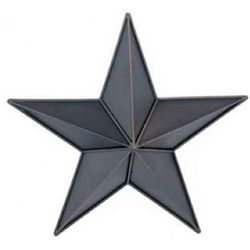 Metal Hanging Wall Star