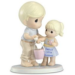 Precious Moments Daddy's Little Sunshine Porcelain Figurine