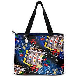 Lady Luck Slot Machine Tote Bag